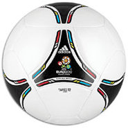 Euro 2012 Glider Ball - White/Black