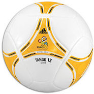Euro 2012 Glider Ball - White/Bright Gold/Black