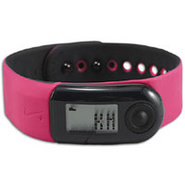 + Sportband 2 - Fireberry/Black