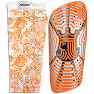 King Shin Guard - Orange