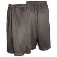 11  Basic Mesh Short - Mens - Charcoal Silver