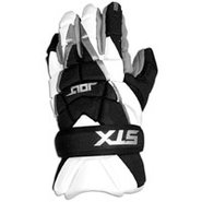 Jolt Lacrosse Gloves - Mens - White