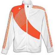 Predator Track Jacket - Mens - White/Infrared