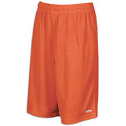 9  Basic Mesh Short with Pockets - Mens - Orange