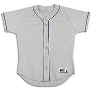 Poly Jersey with Piping - Mens - Grey/Navy