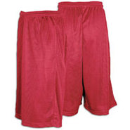 13  Mesh Short with Pockets - Mens - Scarlet