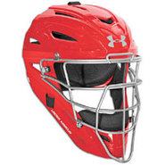 Victory Series Catchers Head Gear - Scarlet