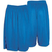 13  Mesh Short with Pockets - Mens - Royal