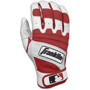 Natural II Batting Gloves - Mens - Pearl/Maroon