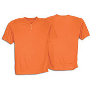 Two-Button Poly Baseball Jersey - Boys Grade Schoo