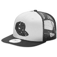 Cap Logo Trucker SV Cap - Mens - Gray/Black