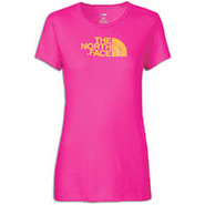 Half Dome S/S T-Shirt - Womens - Razzle Pink/Trave