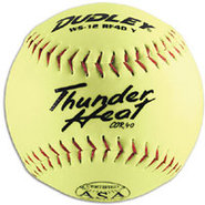 WS12 RF40 ASA Slowpitch Softballs - Yellow