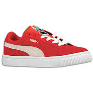 Suede Classic - Boys Preschool - High Risk Red/Whi