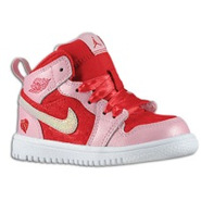 Retro 1 Mid - Girls Toddler - Ion Pink/Gym Red/Whi