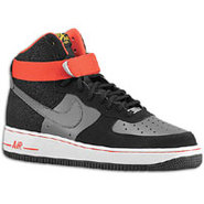 Air Force 1 High - Mens - Black/Dark Grey