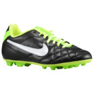 Tiempo Rio FG - Boys Grade School - Black/Electric