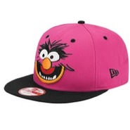Cabesa Punch Snapback - Mens - Pink/Black