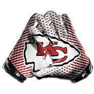 Kansas City Chiefs Nike Vapor Jet 2.0 Team Authent