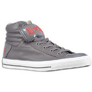PC Primo Le - Mens - Rabbit Grey/Varsity Red