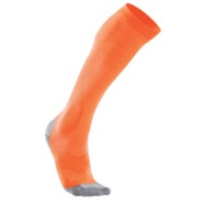 Performance Compression Run Sock - Womens - Fluore