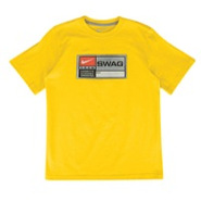 Swag T-Shirt - Boys Grade School - Varsity Maize