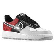 Air Force 1 Low - Mens - Black/Black/University Re