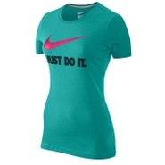 JDI Swoosh Short Sleeve T-Shirt - Womens - Sport T