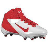 Alpha Speed D 3/4 - Mens - White/Game Red