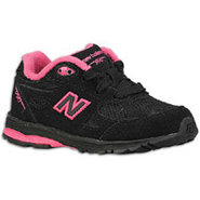990 - Girls Toddler - Black/Pink