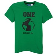 World Globe S/S T-Shirt - Mens - Fairway/Black