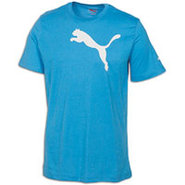 Cat S/S T-Shirt - Mens - Lt Blue