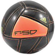 F50 X-ITE Soccer Ball - Black/Warning/Electricity