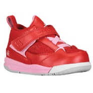 Flight 45 - Girls Toddler - Gym Red/Ion Pink/White