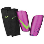 Mercurial Lite Shinguard - Purple/Green