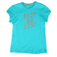 Fast Or Last S/S T-Shirt - Girls Grade School - Tu