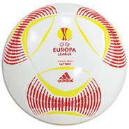 Predator Europa League Capitano Ball - White/Red/Y