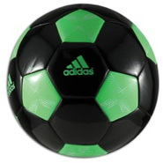 11Pro Glider Soccer Ball - Black/Green Zest/White