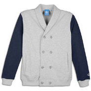 French Terry Blazer Track Top - Mens - Medium Grey