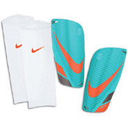 Mercurial Lite Shinguard - Retro/Orange