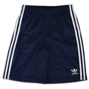 Adi Tricot Short - Boys Grade School - New Navy/Wh