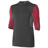 CoMotion Mid Sleeve Game T-Shirt - Mens - Black/Re