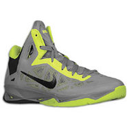 Zoom Hyperchaos - Mens - Cool Grey/Atomic Green/Bl