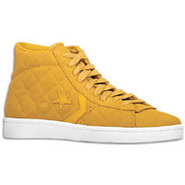 Pro Leather Mid Quilted Suede - Mens - Taffy/Golde