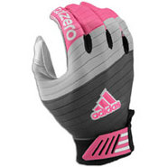 AdiZero Smoke Receiver Glove - Mens - Black/Pink/W