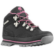 Euro Hiker - Girls Preschool - Black/Pink