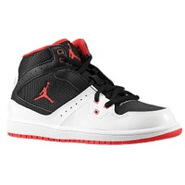 1 Flight - Boys Preschool - Black/True Red/White