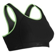 Xtra High-Impact Running Bra - Womens - Black/Lime