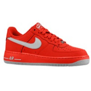 Air Force 1 Low - Mens - University Red/Strata Gre