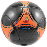 Euro 2012 Glider Ball - Black/Warning